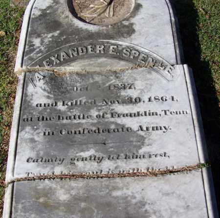 SPENCE, ALEXANDER E. - Clark County, Arkansas | ALEXANDER E. SPENCE - Arkansas Gravestone Photos