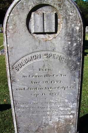SPENCE, SR, SOLOMON - Clark County, Arkansas | SOLOMON SPENCE, SR - Arkansas Gravestone Photos