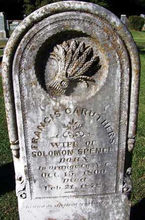 SPENCE, FRANCIS - Clark County, Arkansas | FRANCIS SPENCE - Arkansas Gravestone Photos