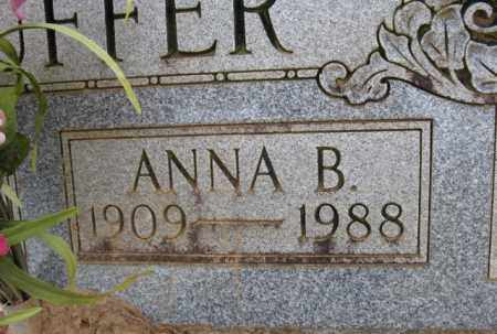 STAUFFER, ANNA B. (CLOSE UP) - Clark County, Arkansas   ANNA B. (CLOSE UP) STAUFFER - Arkansas Gravestone Photos