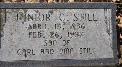 STILL, JUNIOR C. - Clark County, Arkansas | JUNIOR C. STILL - Arkansas Gravestone Photos