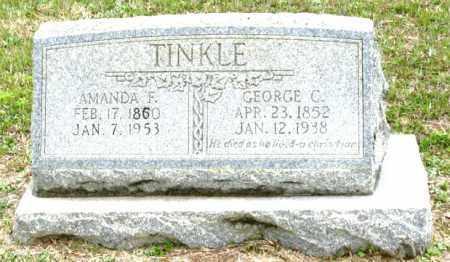 TINKLE, AMANDA F. - Clark County, Arkansas | AMANDA F. TINKLE - Arkansas Gravestone Photos