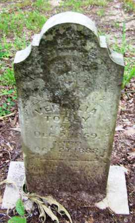 TOBEY, VERMILLA - Clark County, Arkansas | VERMILLA TOBEY - Arkansas Gravestone Photos