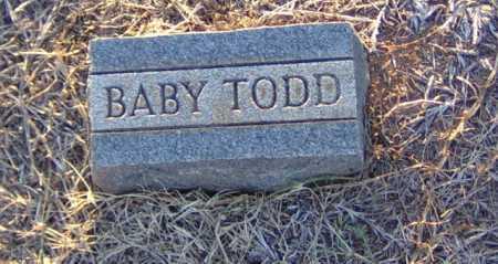 TODD, BABY - Clark County, Arkansas   BABY TODD - Arkansas Gravestone Photos
