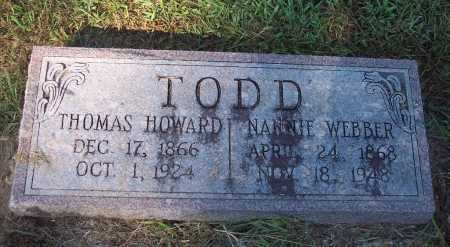 TODD, THOMAS HOWARD - Clark County, Arkansas | THOMAS HOWARD TODD - Arkansas Gravestone Photos