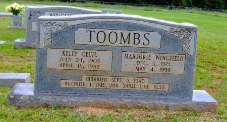 WINGFIELD TOOMBS, MARJORIE - Clark County, Arkansas | MARJORIE WINGFIELD TOOMBS - Arkansas Gravestone Photos