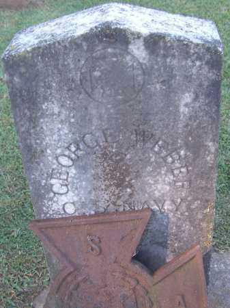 WEBER (VETERAN CSA), GEORGE - Clark County, Arkansas   GEORGE WEBER (VETERAN CSA) - Arkansas Gravestone Photos