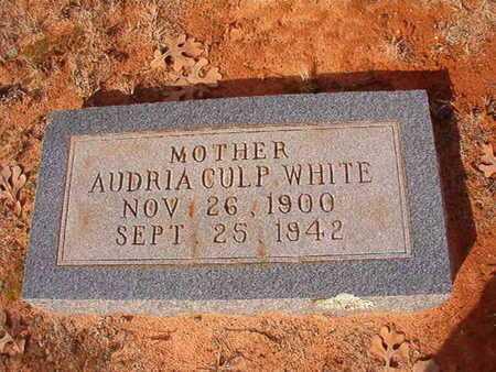 WHITE, AUDRIA - Clark County, Arkansas | AUDRIA WHITE - Arkansas Gravestone Photos