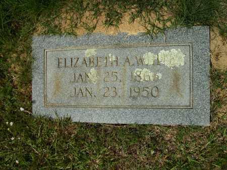 WHITE, ELIZABETH A - Clark County, Arkansas | ELIZABETH A WHITE - Arkansas Gravestone Photos