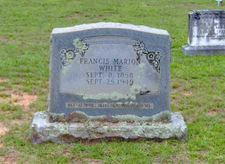WHITE, FRANCIS MARION - Clark County, Arkansas | FRANCIS MARION WHITE - Arkansas Gravestone Photos