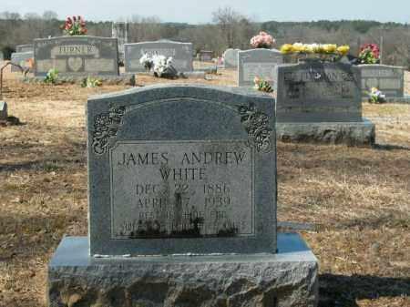 WHITE, JAMES ANDREW - Clark County, Arkansas | JAMES ANDREW WHITE - Arkansas Gravestone Photos