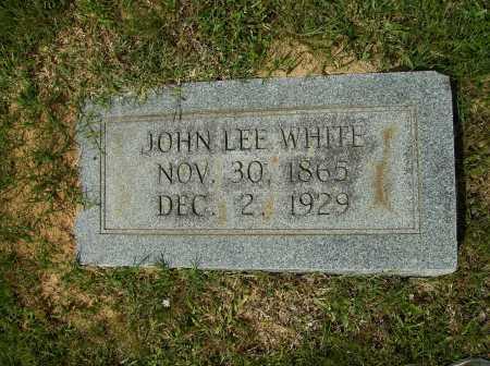 WHITE, JOHN LEE - Clark County, Arkansas | JOHN LEE WHITE - Arkansas Gravestone Photos