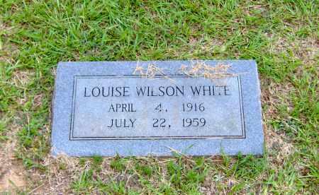 WILSON WHITE, LOUISE - Clark County, Arkansas | LOUISE WILSON WHITE - Arkansas Gravestone Photos