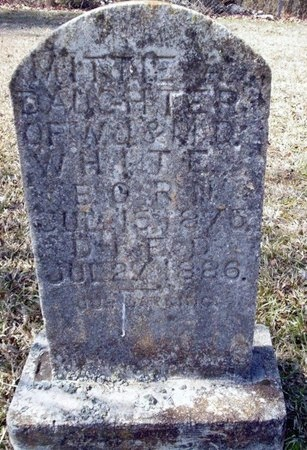 WHITE, MITTIE A - Clark County, Arkansas | MITTIE A WHITE - Arkansas Gravestone Photos