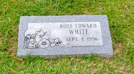 WHITE, ROSS EDWARD - Clark County, Arkansas   ROSS EDWARD WHITE - Arkansas Gravestone Photos
