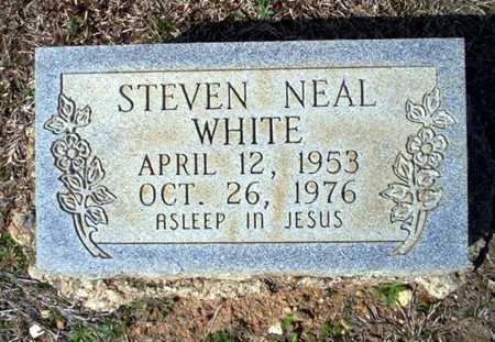 WHITE, STEVEN NEAL - Clark County, Arkansas | STEVEN NEAL WHITE - Arkansas Gravestone Photos