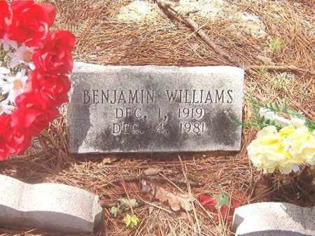 WILLIAMS, BENJAMIN - Clark County, Arkansas | BENJAMIN WILLIAMS - Arkansas Gravestone Photos