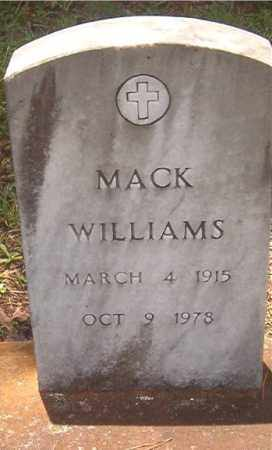 WILLIAMS, MACK - Clark County, Arkansas | MACK WILLIAMS - Arkansas Gravestone Photos