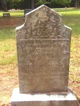 WILLIAMS, RHODIA - Clark County, Arkansas | RHODIA WILLIAMS - Arkansas Gravestone Photos