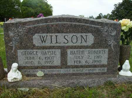WILSON, GEORGE OATSIE - Clark County, Arkansas | GEORGE OATSIE WILSON - Arkansas Gravestone Photos