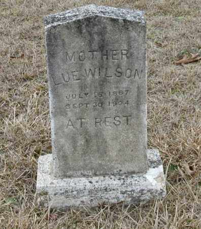 WILSON, LUE - Clark County, Arkansas | LUE WILSON - Arkansas Gravestone Photos