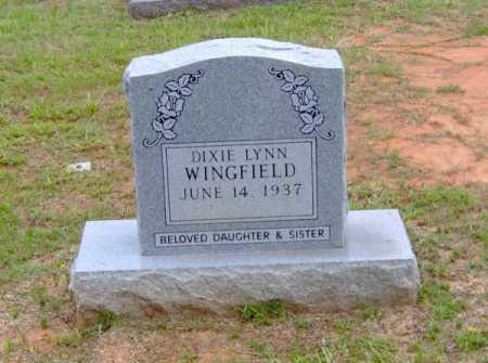 WINGFIELD, DIXIE LYNN - Clark County, Arkansas | DIXIE LYNN WINGFIELD - Arkansas Gravestone Photos