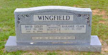 WINGFIELD, DAVID LESLEY - Clark County, Arkansas | DAVID LESLEY WINGFIELD - Arkansas Gravestone Photos