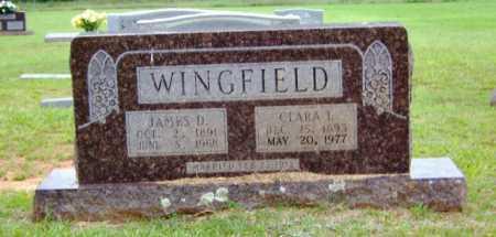 WINGFIELD, JAMES D. - Clark County, Arkansas | JAMES D. WINGFIELD - Arkansas Gravestone Photos