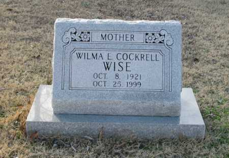 WISE, WILMA E. - Clark County, Arkansas | WILMA E. WISE - Arkansas Gravestone Photos
