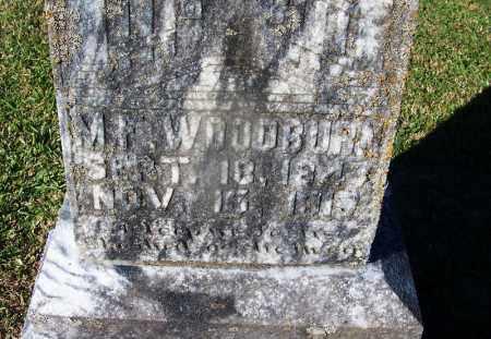 WOODBURN, M. F. - Clark County, Arkansas | M. F. WOODBURN - Arkansas Gravestone Photos