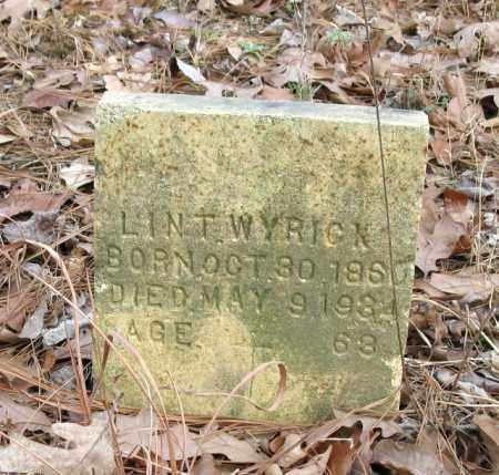 WYRICK, LINT - Clark County, Arkansas | LINT WYRICK - Arkansas Gravestone Photos
