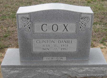 COX, CLINTON DANIEL - Clay County, Arkansas | CLINTON DANIEL COX - Arkansas Gravestone Photos