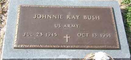 BUSH (VETERAN), JOHNNIE RAY - Clay County, Arkansas   JOHNNIE RAY BUSH (VETERAN) - Arkansas Gravestone Photos