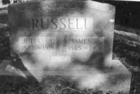 DEEN/DEAN RUSSELL, JULIA A. - Clay County, Arkansas | JULIA A. DEEN/DEAN RUSSELL - Arkansas Gravestone Photos
