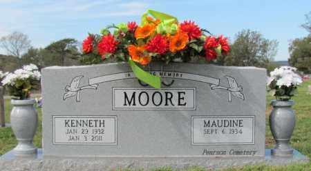MOORE, KENNETH - Cleburne County, Arkansas | KENNETH MOORE - Arkansas Gravestone Photos