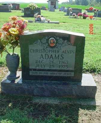 ADAMS, CHRISTOPHER ALVIN - Clay County, Arkansas   CHRISTOPHER ALVIN ADAMS - Arkansas Gravestone Photos