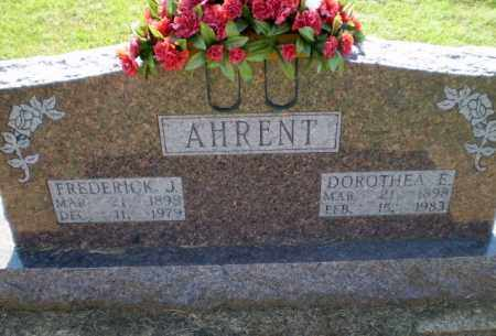 AHRENT, DOROTHEA E - Clay County, Arkansas | DOROTHEA E AHRENT - Arkansas Gravestone Photos