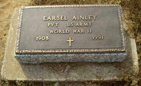 AINLEY  (VETERAN WWII), EARSEL - Clay County, Arkansas   EARSEL AINLEY  (VETERAN WWII) - Arkansas Gravestone Photos