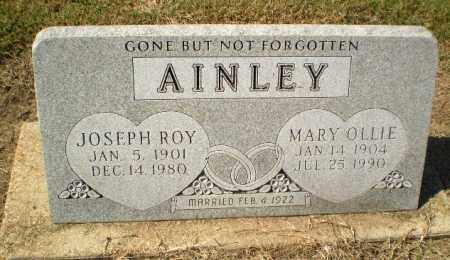AINLEY, JOSEPH ROY - Clay County, Arkansas | JOSEPH ROY AINLEY - Arkansas Gravestone Photos