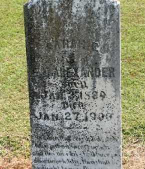 ALEXANDER, SARAH E. - Clay County, Arkansas   SARAH E. ALEXANDER - Arkansas Gravestone Photos