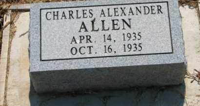 ALLEN, CHARLES ALEXANDER - Clay County, Arkansas | CHARLES ALEXANDER ALLEN - Arkansas Gravestone Photos