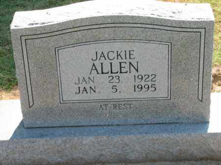 ALLEN, JACKIE - Clay County, Arkansas | JACKIE ALLEN - Arkansas Gravestone Photos