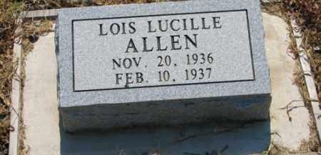 ALLEN, LOIS LUCILLE - Clay County, Arkansas | LOIS LUCILLE ALLEN - Arkansas Gravestone Photos