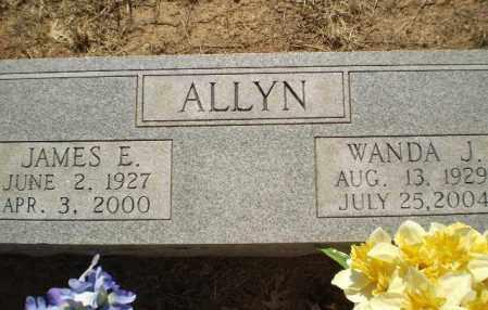 ALLYN, WANDA J - Clay County, Arkansas | WANDA J ALLYN - Arkansas Gravestone Photos
