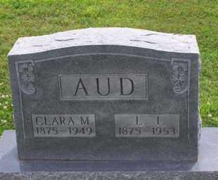 REEDER AUD, CLARE M - Clay County, Arkansas | CLARE M REEDER AUD - Arkansas Gravestone Photos
