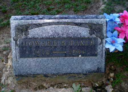 BAKER, HOWARD R - Clay County, Arkansas | HOWARD R BAKER - Arkansas Gravestone Photos