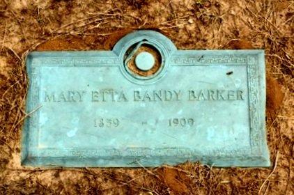 BANDY BARKER, MARY - Clay County, Arkansas | MARY BANDY BARKER - Arkansas Gravestone Photos