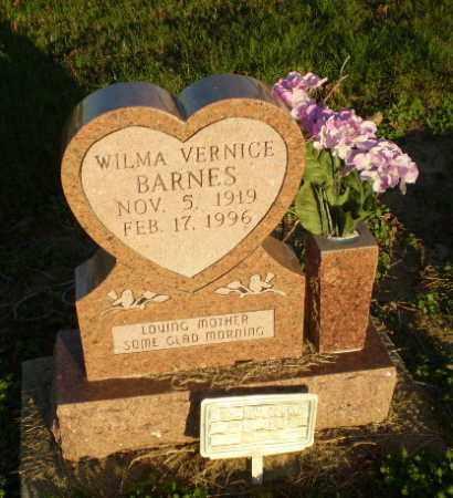 BARNES, WILMA VERNICE - Clay County, Arkansas | WILMA VERNICE BARNES - Arkansas Gravestone Photos