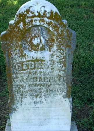 BARNETT, GEORGE W - Clay County, Arkansas | GEORGE W BARNETT - Arkansas Gravestone Photos