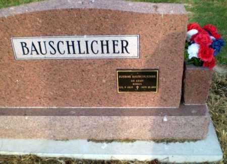 BAUSCHLICHER  (VETERAN KOR), EUGENE - Clay County, Arkansas | EUGENE BAUSCHLICHER  (VETERAN KOR) - Arkansas Gravestone Photos